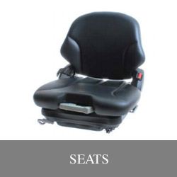 Operator seats for lift equipment Illinois Lift Equipment
