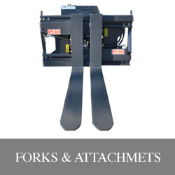 Forklift forks and attachments Illinois Lift Equipment