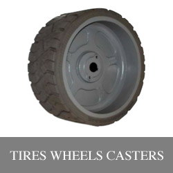 Tires, Wheels and Casters for lift equipment Illinois Lift Equipment