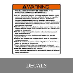 Heavy Equipment Decals Illinois Lift Equipment