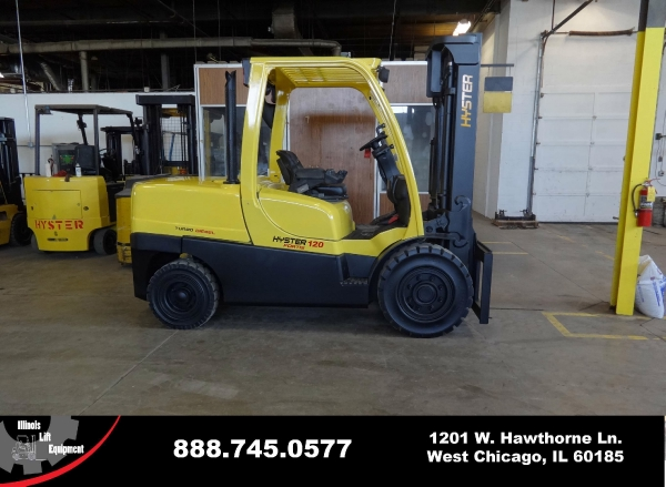 New 2007 HYSTER H120FT - West Chicago, IL