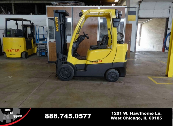 New 2008 HYSTER S60FT - West Chicago, IL