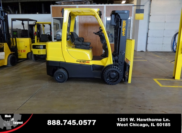 New 2007 HYSTER S80FT - West Chicago, IL