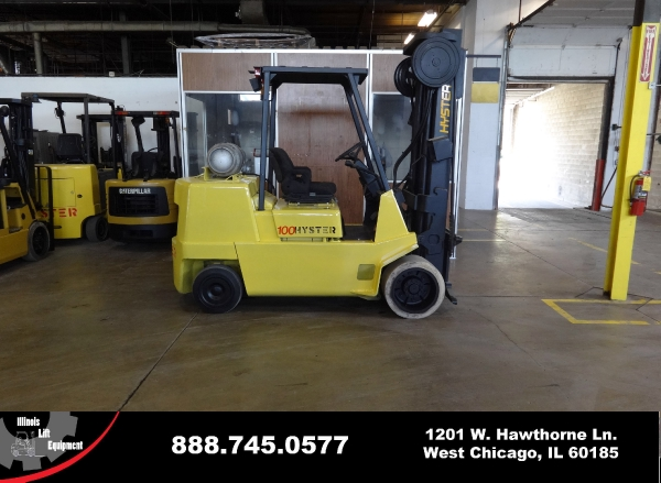 New 2001 HYSTER S100XL2 - West Chicago, IL
