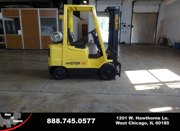 Used 2004 HYSTER S50XM - West Chicago, IL