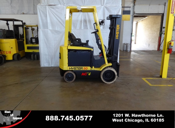 Used 2008 HYSTER E50Z-27 - West Chicago, IL