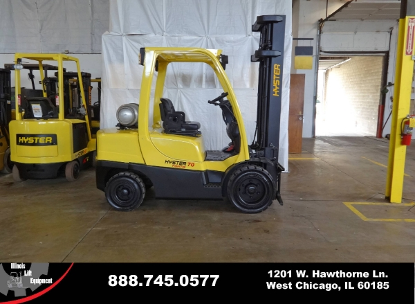 Used 2008 HYSTER H70FT - West Chicago, IL