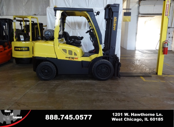 Used 2007 HYSTER H80FT - West Chicago, IL