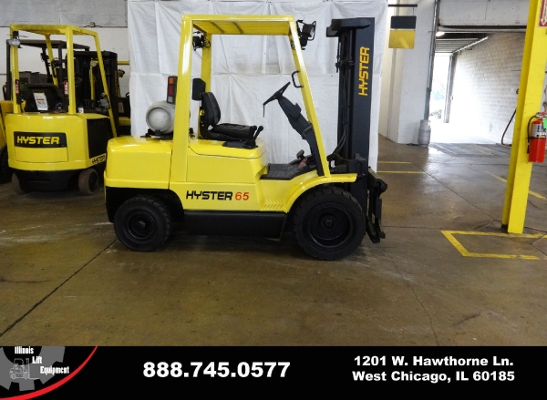 Used 2004 HYSTER H65XM - West Chicago, IL