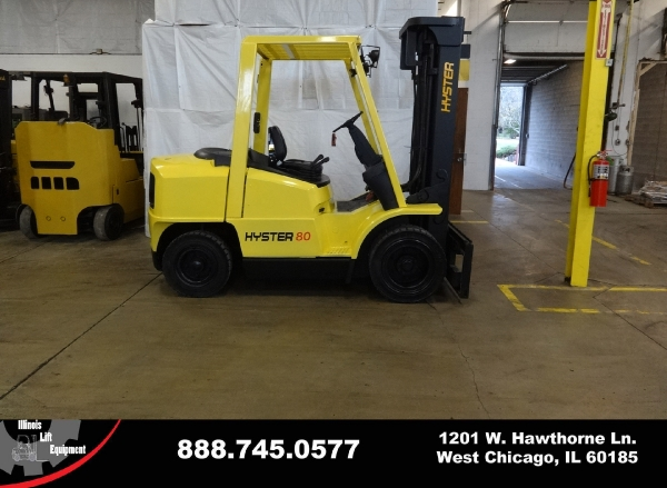 Used 2005 HYSTER H80XM - West Chicago, IL