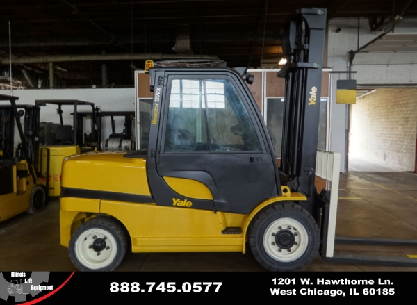 Used 2008 YALE GDP120VX - West Chicago, IL