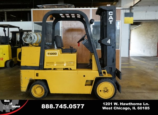 Used 1987 CATERPILLAR TC100D - West Chicago, IL