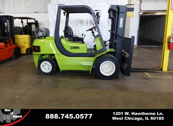 Used 2002 CLARK CMP50SL - West Chicago, IL