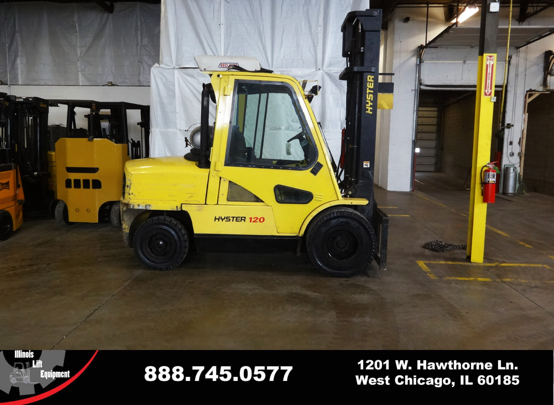 Used 2006 HYSTER H120XM  - West Chicago, IL