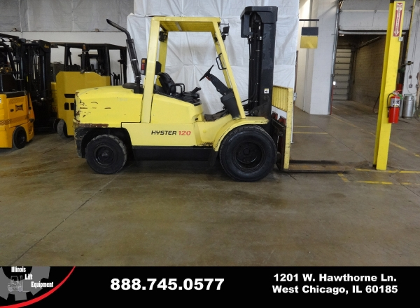 Used 2004 HYSTER H120XM - West Chicago, IL