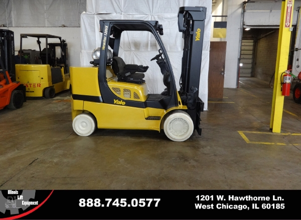 Used 2009 YALE GLC120VX - West Chicago, IL
