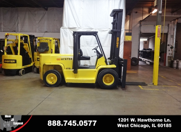 Used 2004 HYSTER H135XL - West Chicago, IL