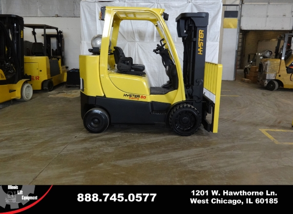Used 2008 HYSTER S80FTBCS - West Chicago, IL