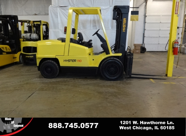 Used 2006 HYSTER H110XM - West Chicago, IL