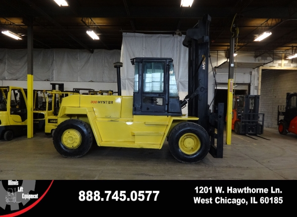 Used 2001 HYSTER H300XL - West Chicago, IL