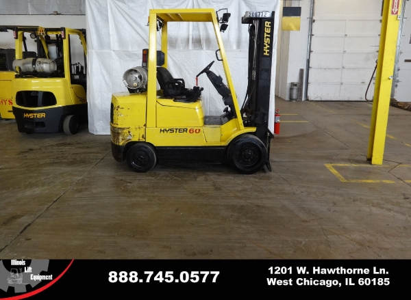 Used 2001 HYSTER S60XM - West Chicago, IL