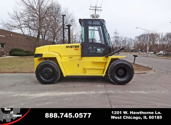 Used 2003 HYSTER H360HD - West Chicago, IL