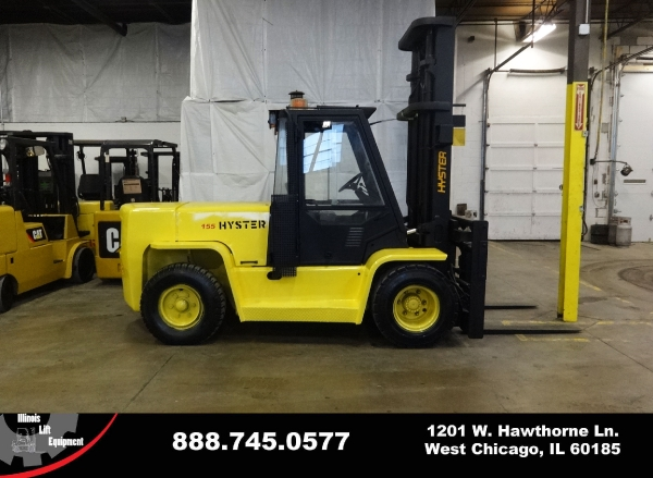 Used 2005 HYSTER H155XL - West Chicago, IL