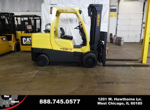 Used 2009 HYSTER S120FT - West Chicago, IL
