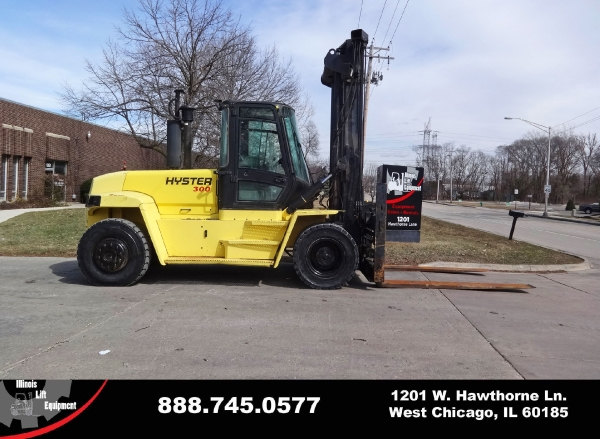 Used 2006 HYSTER H300HD - West Chicago, IL