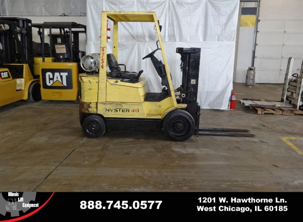 Used 2004 HYSTER S40XM - West Chicago, IL
