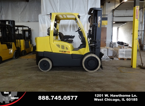 Used 2008 HYSTER S135FT - West Chicago, IL