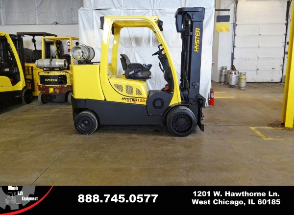 Used 2008 HYSTER S120FT - West Chicago, IL