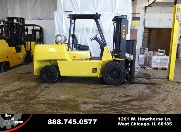 Used 1999 HYSTER H110XL - West Chicago, IL