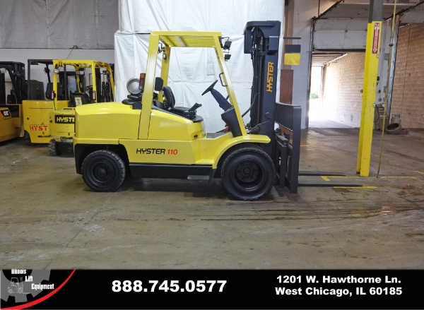 Used 2004 HYSTER H110XM - West Chicago, IL