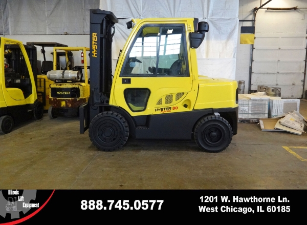 Used 2010 HYSTER H80FT - West Chicago, IL