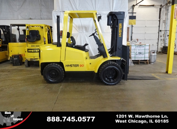 Used 2000 HYSTER H90XMS - West Chicago, IL