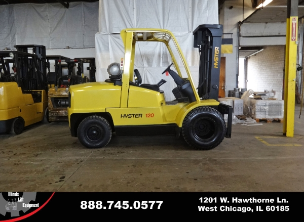 Used 2003 HYSTER H120XM - West Chicago, IL