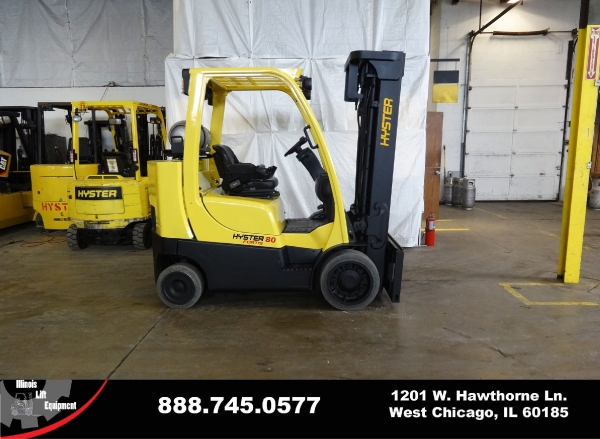 Used 2006 HYSTER S80FTBCS - West Chicago, IL