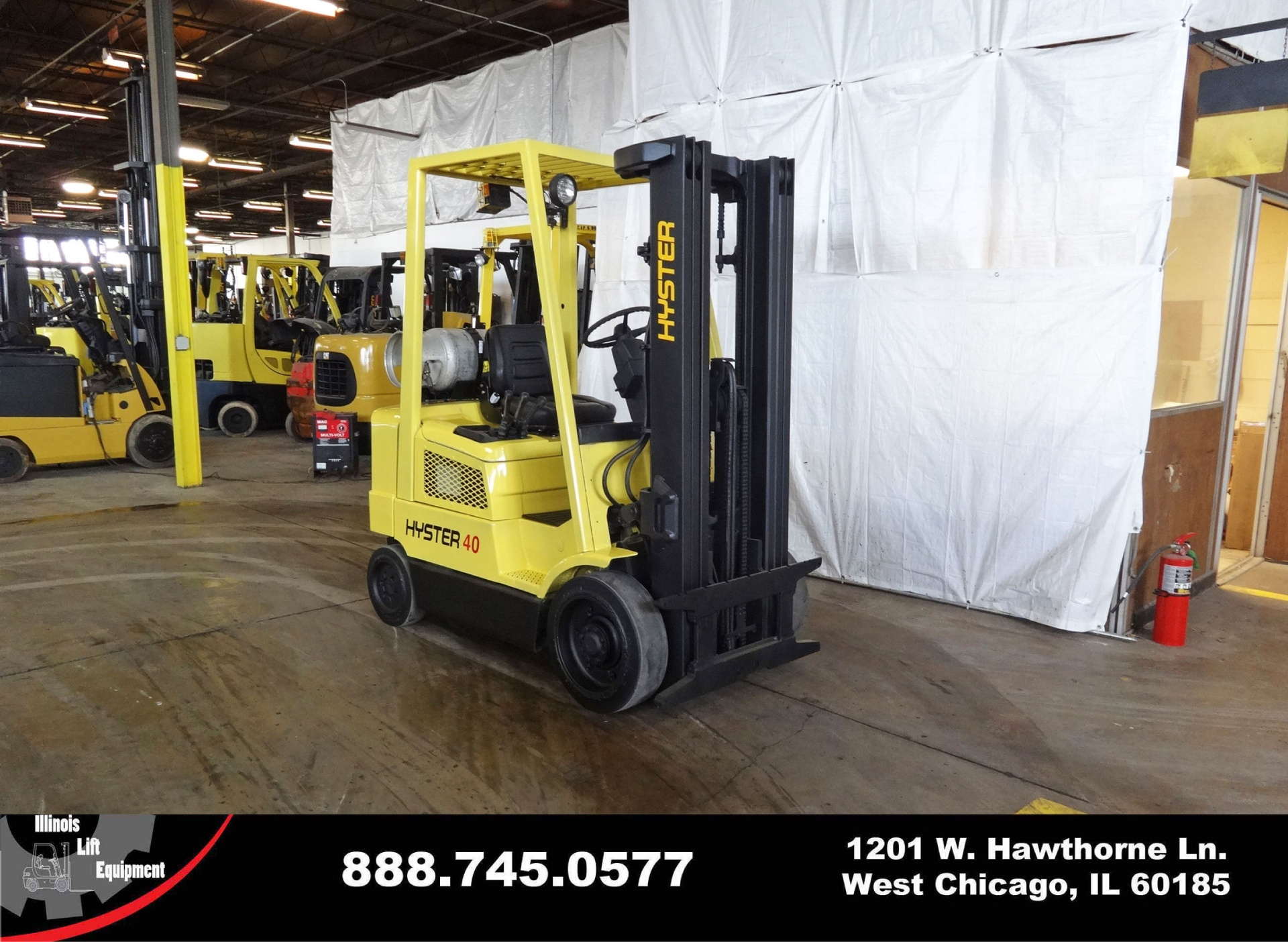 Used 2004 HYSTER S40XM  | West Chicago, IL