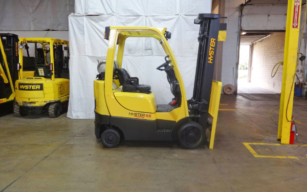 2009 HYSTER S55FTS