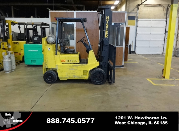 New 1996 HYSTER S80XL-BCS - West Chicago, IL