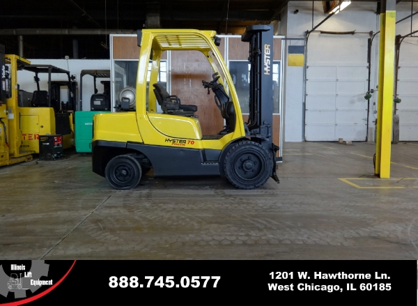 New 2007 HYSTER H70FT-4 - West Chicago, IL