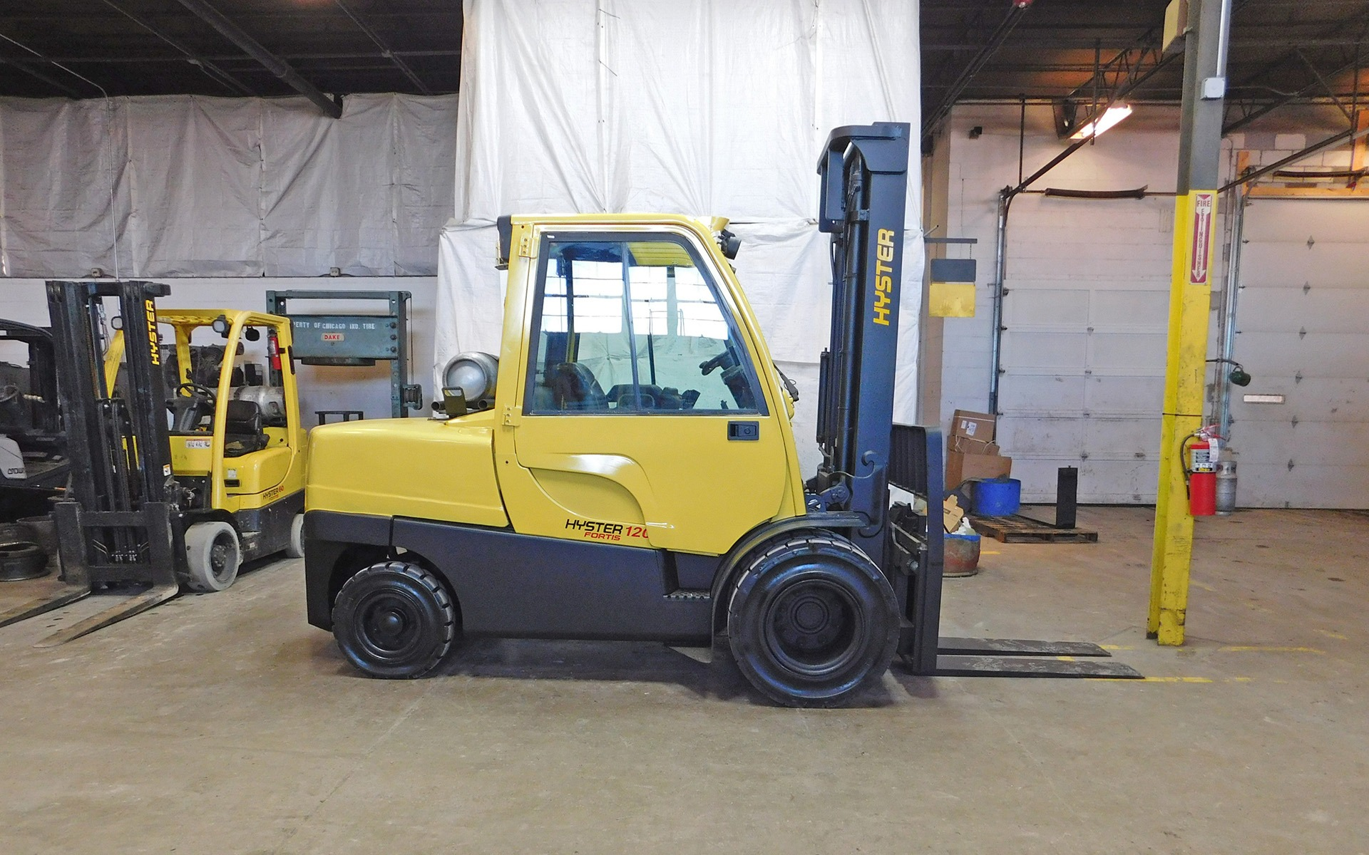 2007 Hyster H120ft Stock 3331 For Sale Near Cary Il
