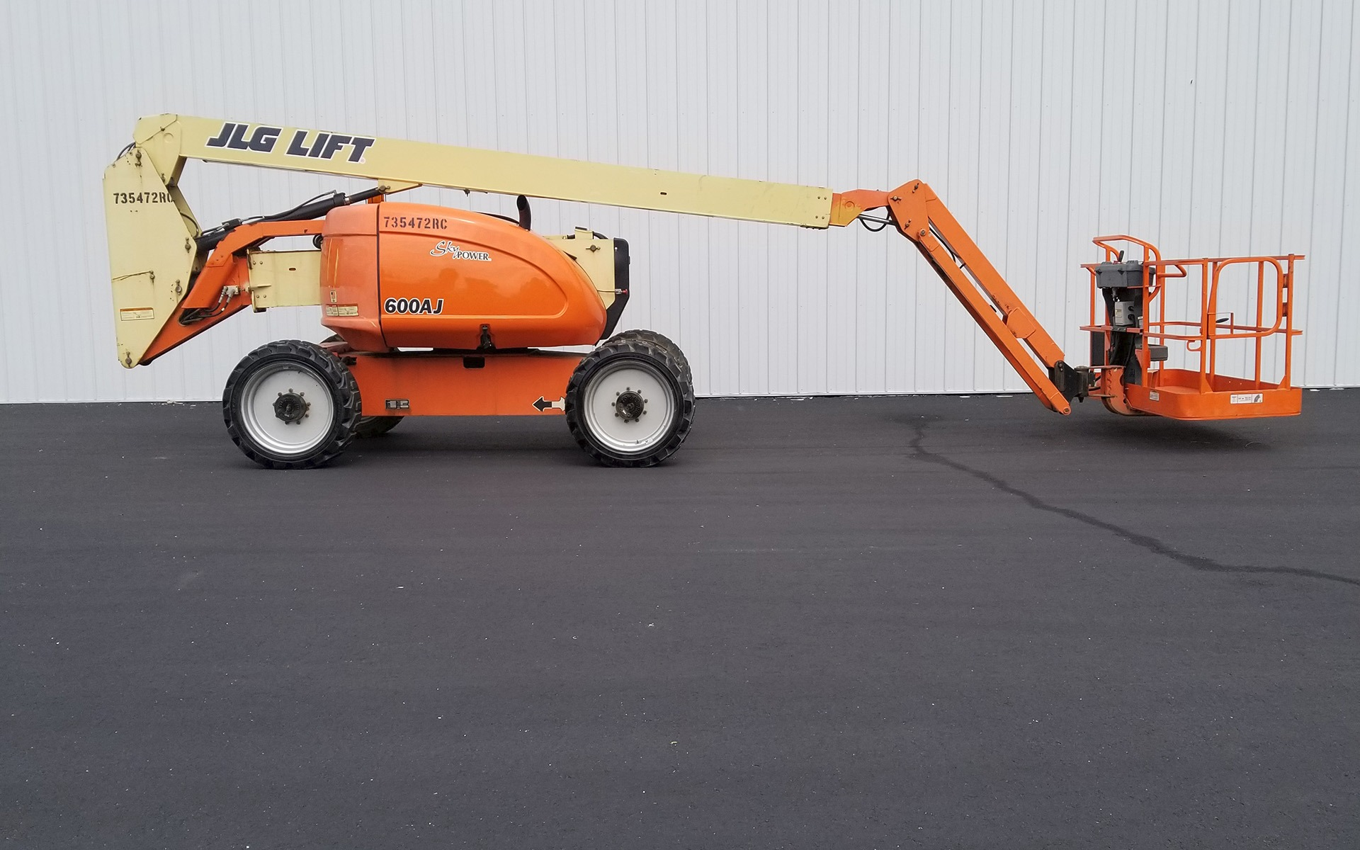 Used 2008 JLG 600AJ  | Cary, IL
