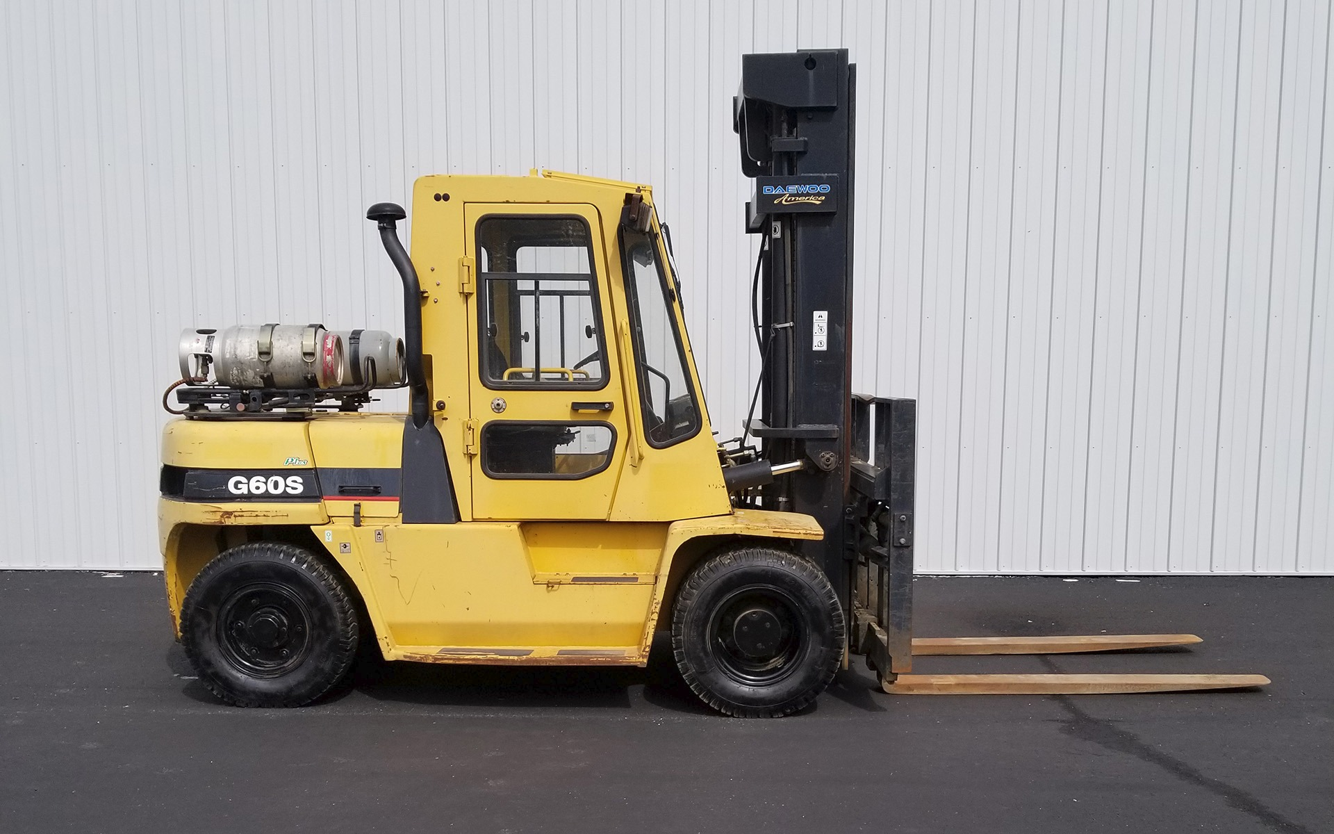 2005 DAEWOO G60S-2 Stock # 3594 for sale near Cary, IL | IL DAEWOO