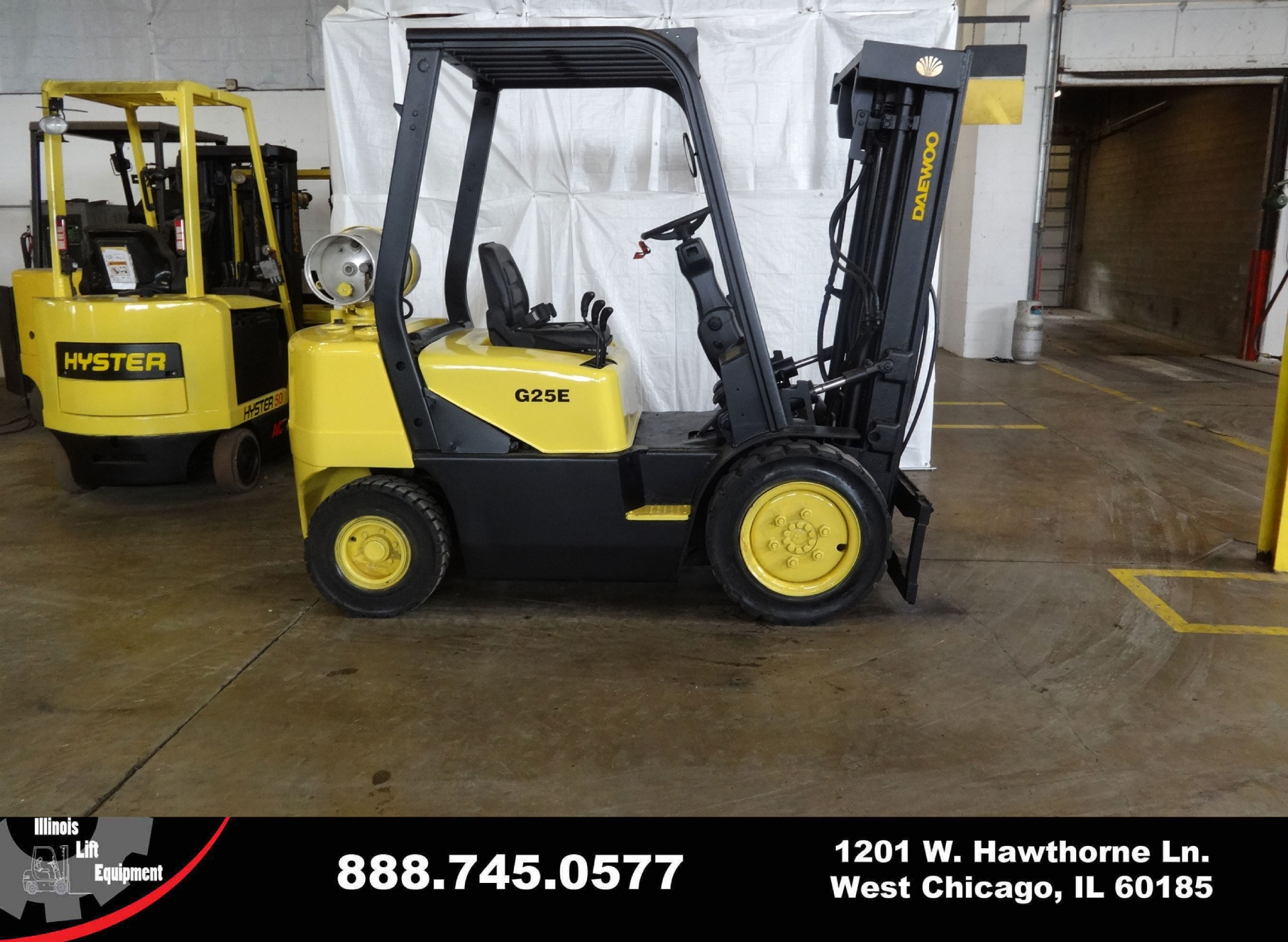 2006 DAEWOO G25E-3 Stock # 1472 for sale near Cary, IL | IL DAEWOO