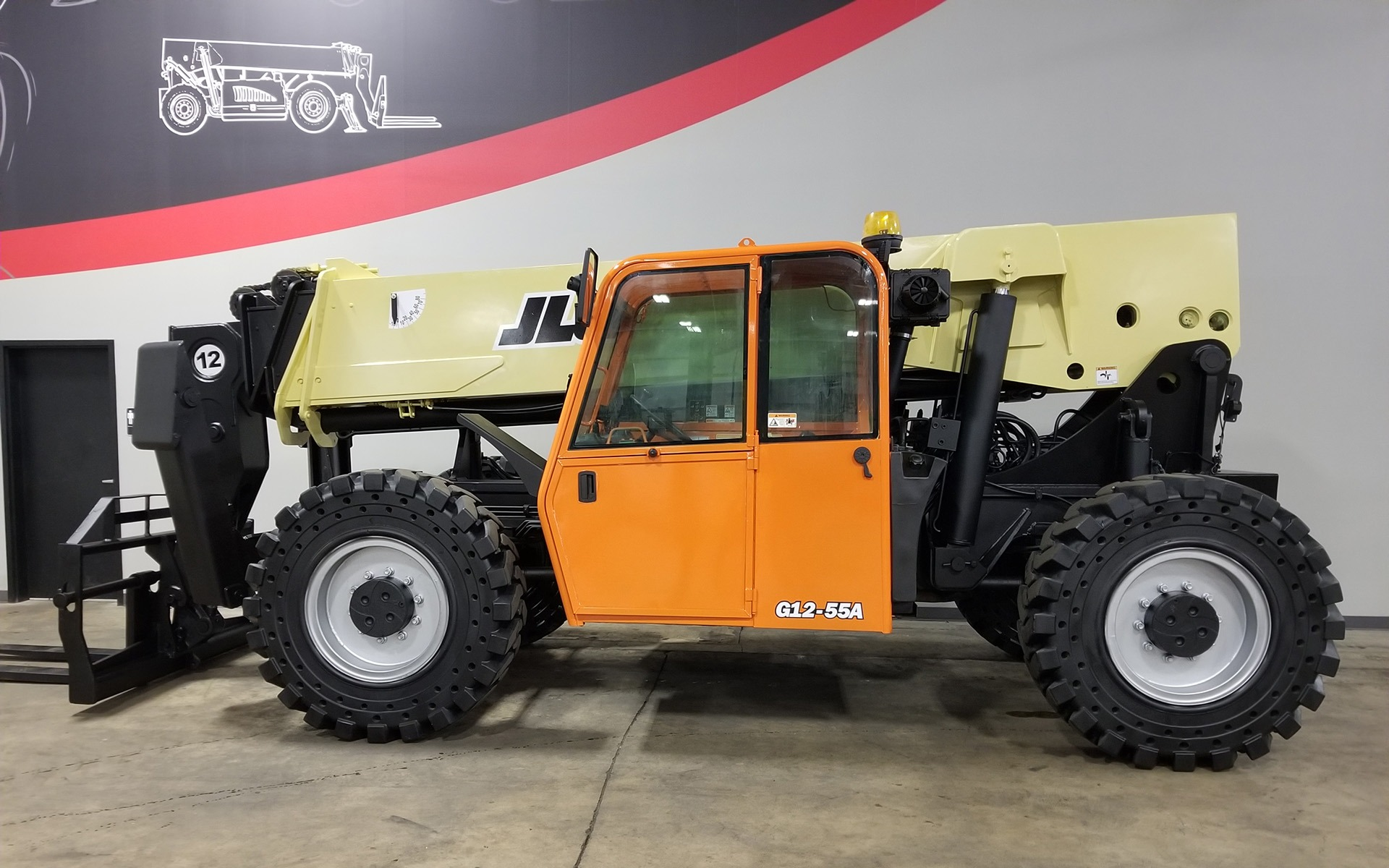 Used 2012 JLG G12-55A    Cary, IL