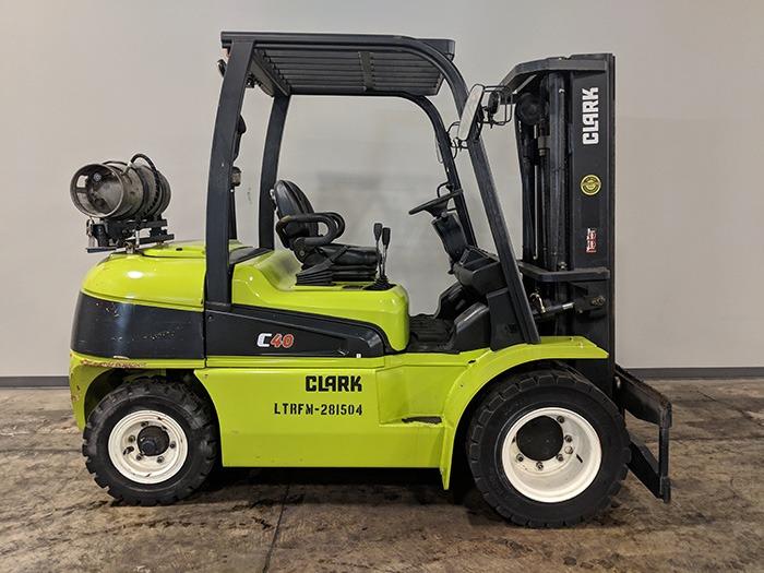 Used 2015 CLARK C40L  | Cary, IL