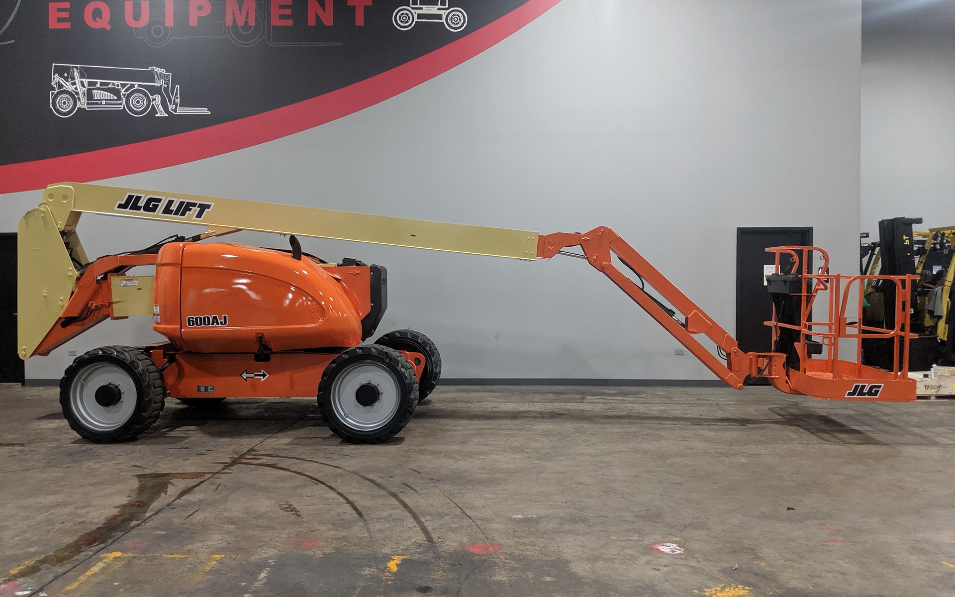 Used 2011 JLG 600AJ  | Cary, IL