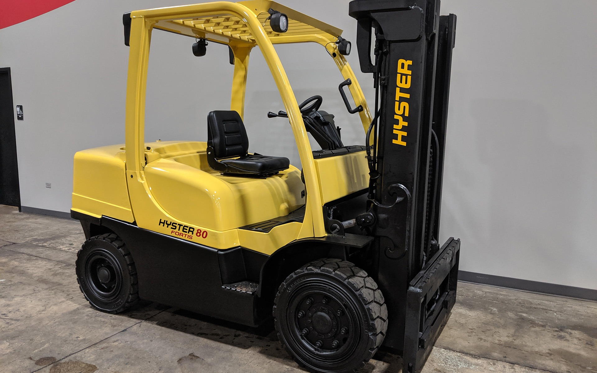 Used 2010 HYSTER H80FT  | Cary, IL